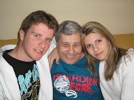Meus filhos com o pai