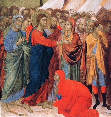 Duccio The Maestà (detail)