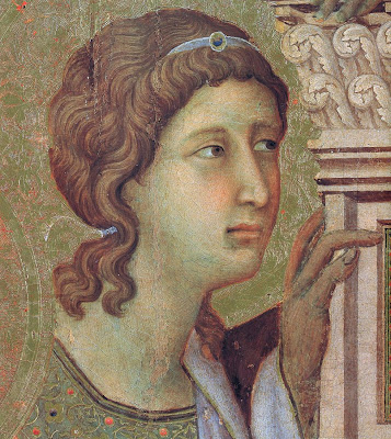 Duccio The Maestà (detail)