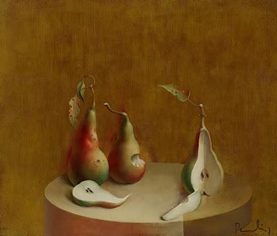 Still Life Painting by Latvian Artist Paulis Postazs