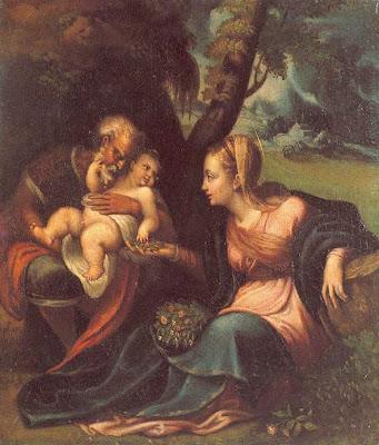 Holy Family by Sofonisba Anguissola
