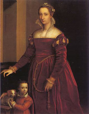 Double Portrait by Sofonisba Anguissola