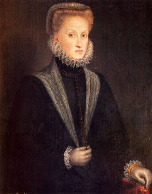 Portrait of Anne of Austria, queen of Spain by Sofonisba Anguissola