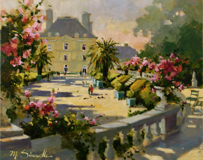 Painting by American Artist Marilyn Simandle