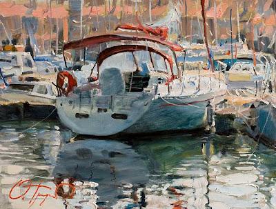 Russian Artist Oleg Trofimoff. Paintings