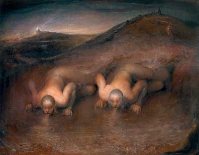 Paintings by Odd Nerdrum Norwegian Artist