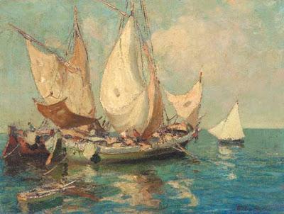 Paintings by Merio Ameglio Italian Artist