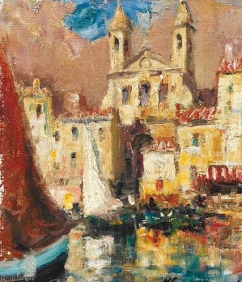 Oil Painting by Italian Artist Merio Ameglio