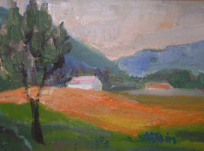 Landscape by French Artist Marie Astoin