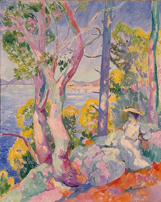 Landscape Paintings by Henri Manguin French Fauvist Artist