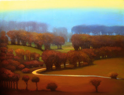 Landscape Painting by Linn Windsor
