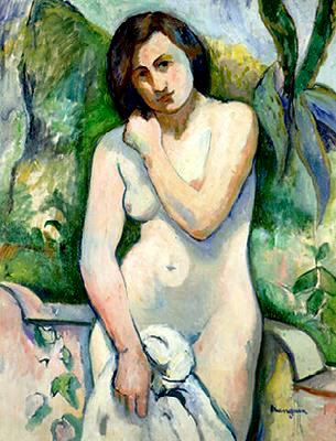 Henri Manguin. Nude Painting