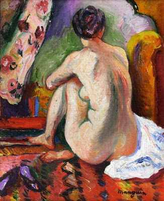 Nude Painting by Henri Manguin French Fauvist Artist