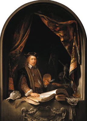 Gerrit Dou Paintings Self Portrait