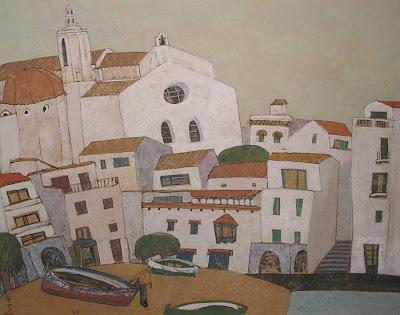 Painting of Japanese Artist Shigeyoshi Koyama
