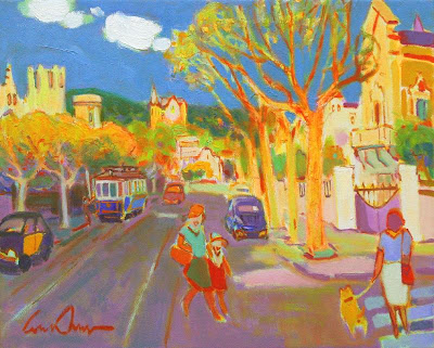 Paintings by Spainish Artist Luis Amer