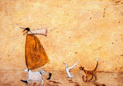 Paintings by  Sam Toft British Artist