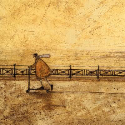 Painting by  British Artist Sam Toft
