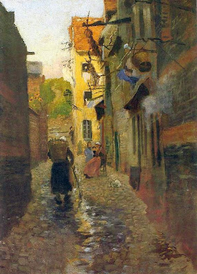 Paintings by Frits Thaulow Norwegian Painter