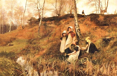 Oil Painting by Victorian Artist Hector Caffieri