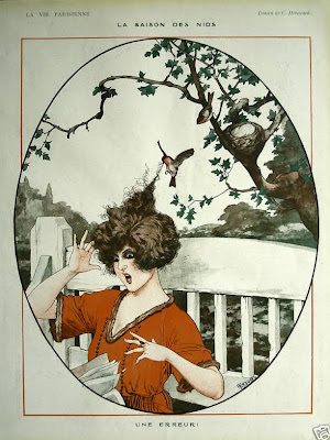 Illustration for La Vie Parisienne by Cheri Heruard