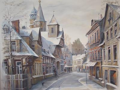 Paintings by Russian Artist Alexander Starodubov