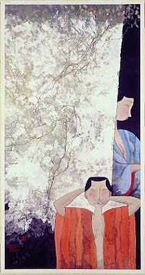 Paintings by Hu Yongkai Chinese Artist