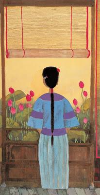 Painting by Hu Yongkai Chinese Artist