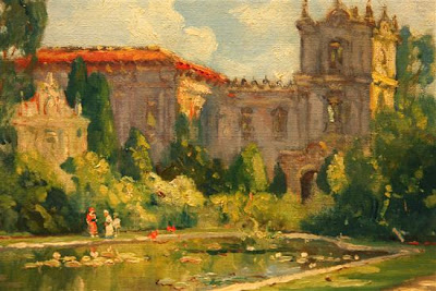 Paintings by American Impressionist Artist Colin C. Cooper