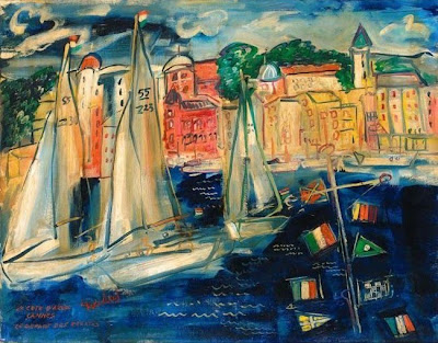 Painting by Spanish Expressionist Artist Carlos Nadal