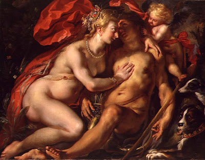 Painting by Flemish Baroque Painter Jacob Jordaens
