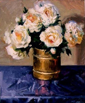 Still Life Painting by American Artist Richard Fillhouer