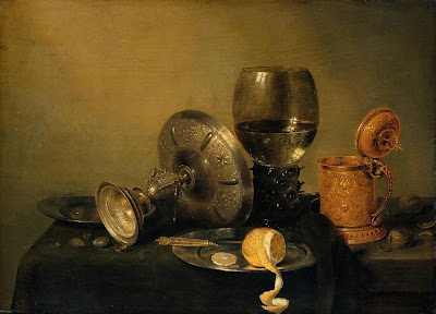 Still Life Painting by Dutch Painter Willem Claesz Heda