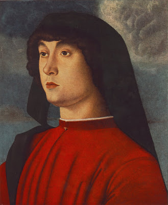Young Man in Red by Giovanni Bellini