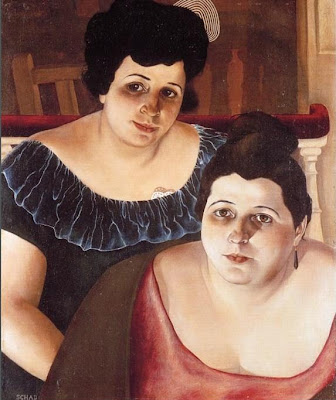 Paintings by Christian Schad German Artist