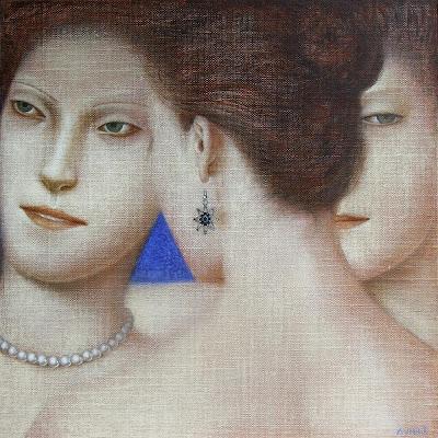 Oil Painting by Serbian Artist Vladimir Dunjic