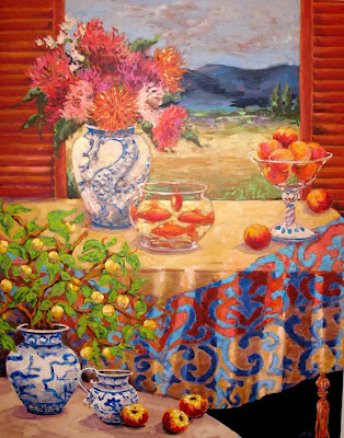 Still Life Painting by Katherine Steiger American Artist