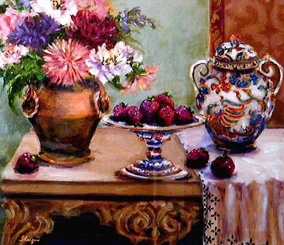 Still Life Painting by American Artist Katherine Steiger