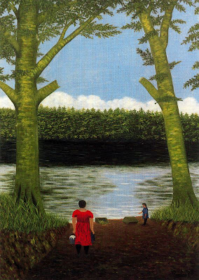 Painting by French Naive Artist Camille Bombois