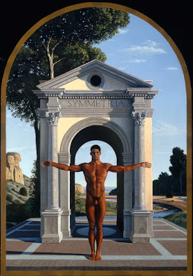 Figurative Painting by American Artist David Ligare