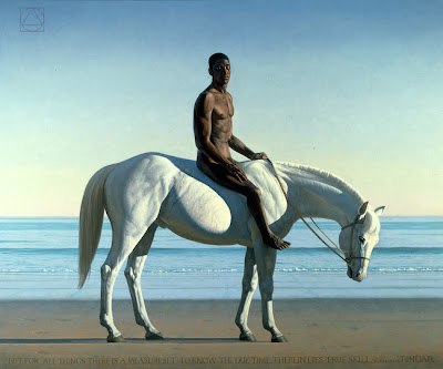 Painting by American Artist David Ligare