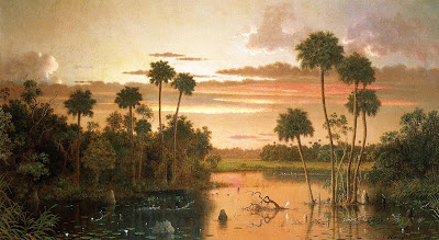 Landscape Painting by American painting Martin Johnson Heade