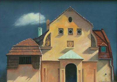 Contemporary Painting by Polish Artist Zbigniew Chrostek