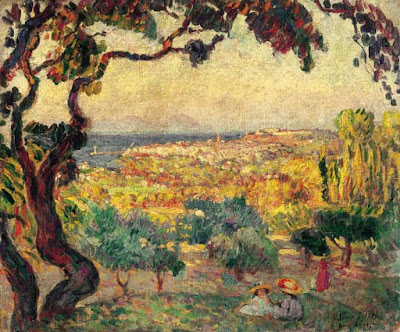 Landscape Painting by Henri Lebasque French Artist
