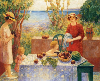 Henri Lebasque, Painting by French Artist Henri Lebasque