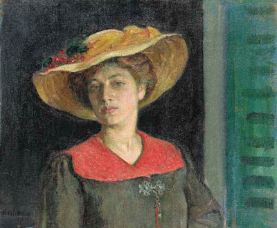 Portrait Painting by Henri Lebasque French Artist
