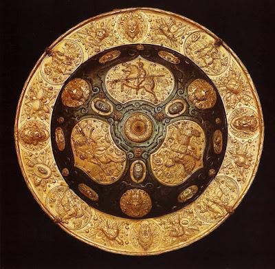 Dresden Armory (Rüstkammer). Round Shield, Augsburg, c.1600
