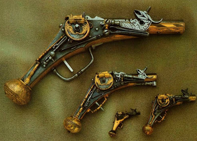 Dresden Armory (Rüstkammer). Wheellock Pistol, Germany, 16th century