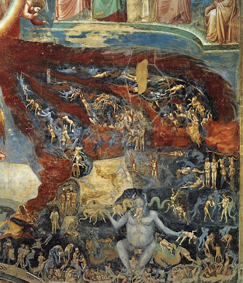 Last Judgment, detail, by Giotto