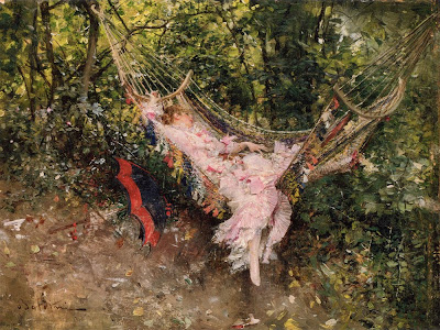 Painting by Giovanni Boldini, 1982